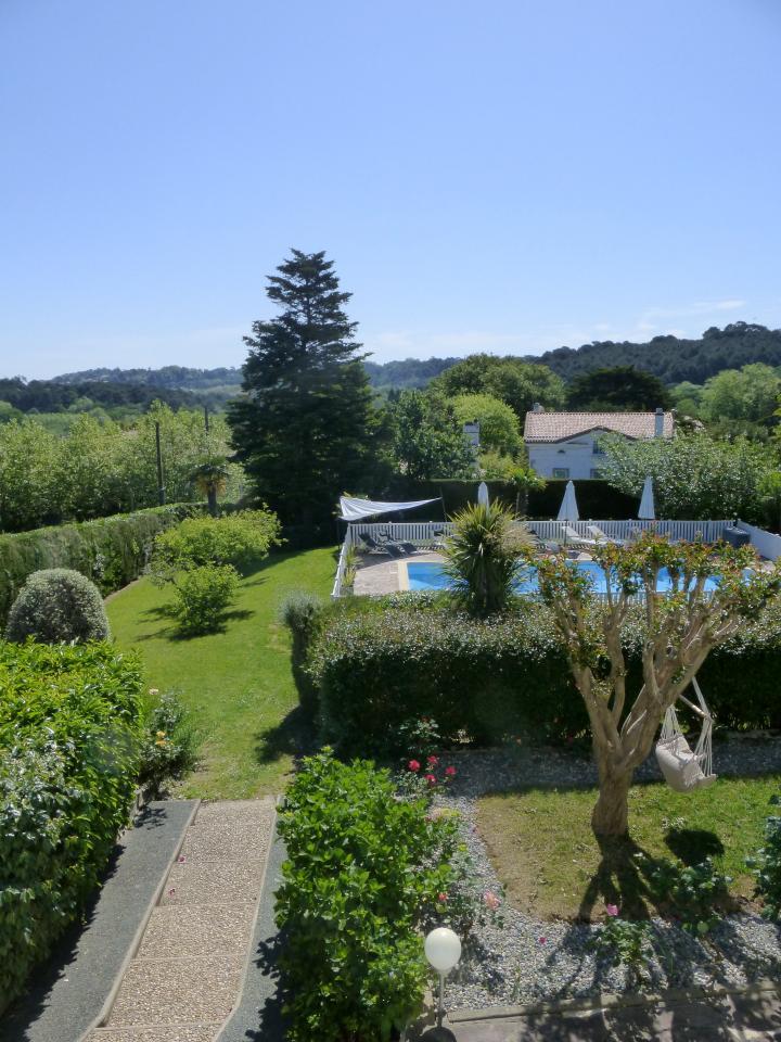 Appartement dans maison pour 4 personnes bidart avec - Location maison piscine biarritz ...