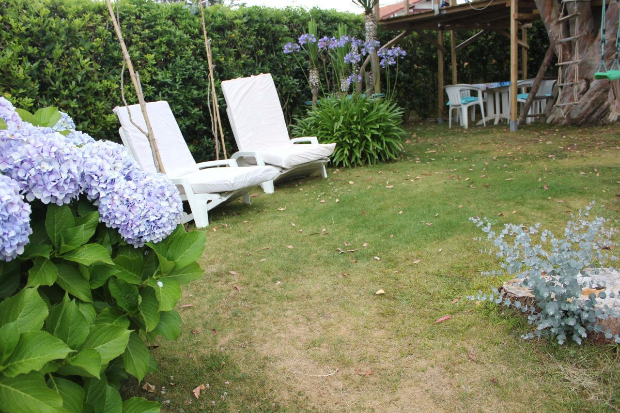 Vacances maison jardin plage pour 4 personnes bidart for Entretien jardin bidart
