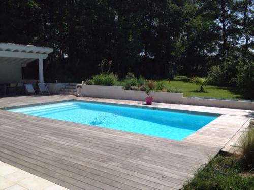 maison pour 8 personnes ustaritz avec piscine et vue